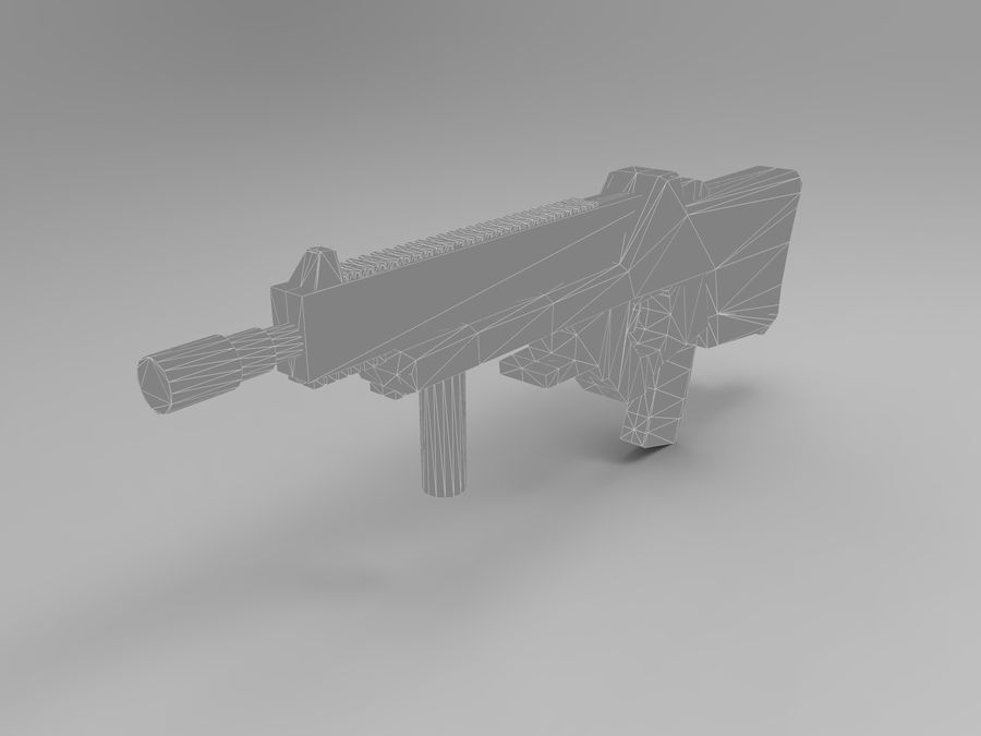 weapon royalty-free 3d model - Preview no. 20