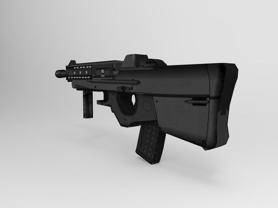weapon royalty-free 3d model - Preview no. 4