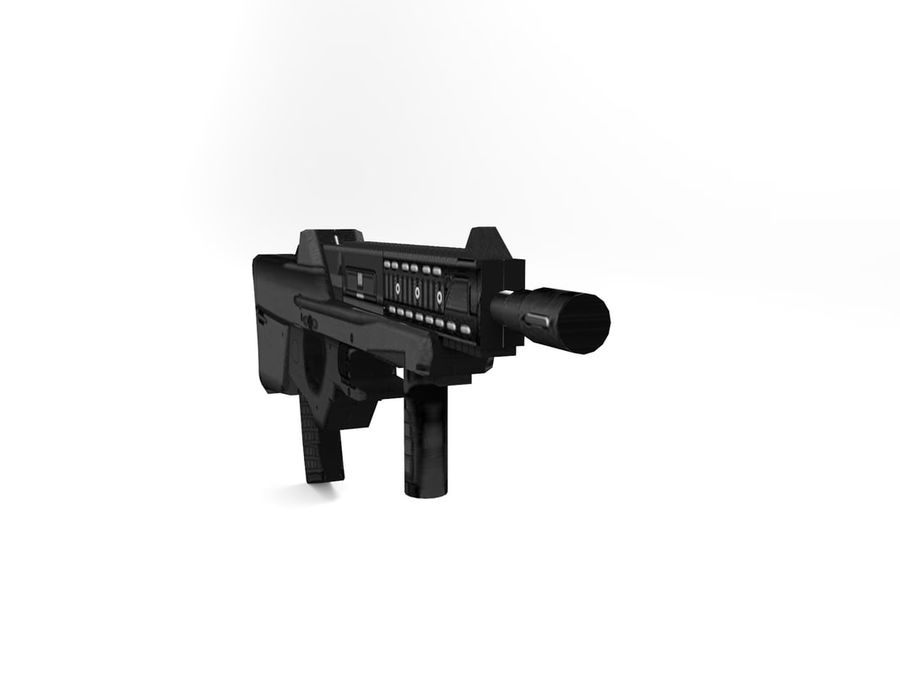weapon royalty-free 3d model - Preview no. 9
