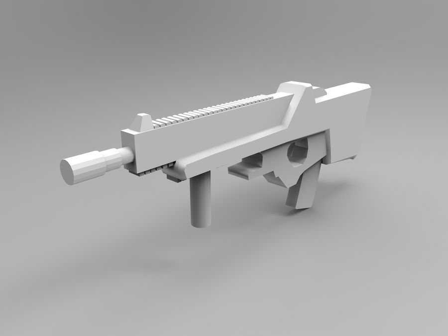 weapon royalty-free 3d model - Preview no. 16