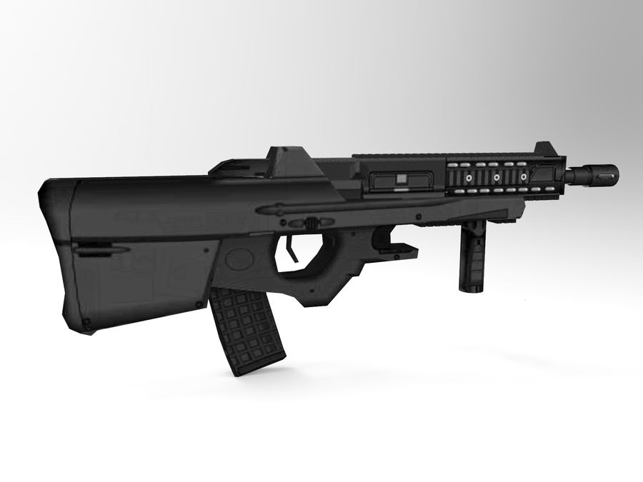 weapon royalty-free 3d model - Preview no. 6
