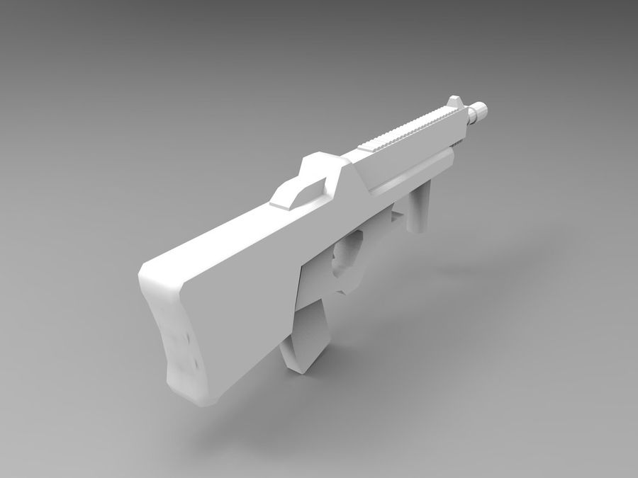 weapon royalty-free 3d model - Preview no. 18