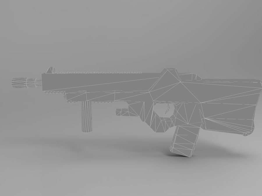 weapon royalty-free 3d model - Preview no. 21