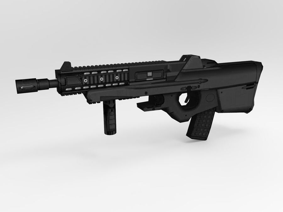 weapon royalty-free 3d model - Preview no. 23
