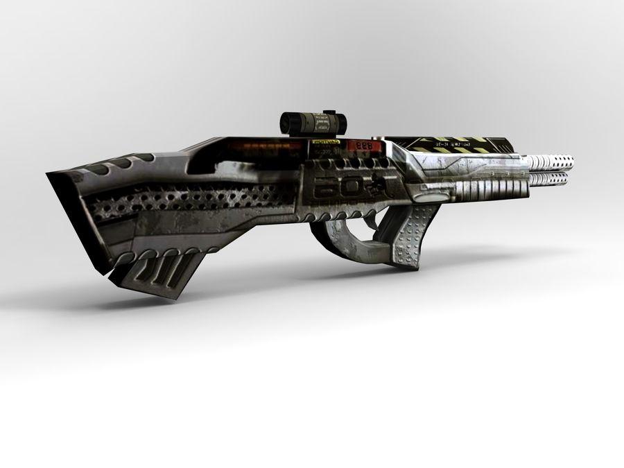 arma royalty-free modelo 3d - Preview no. 6