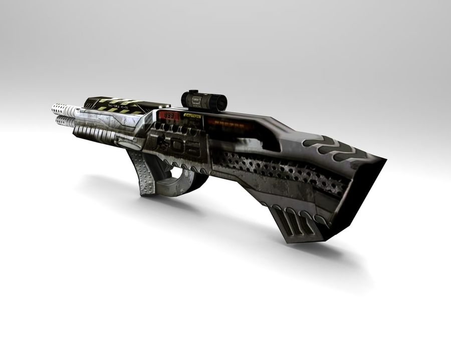 arma royalty-free 3d model - Preview no. 3