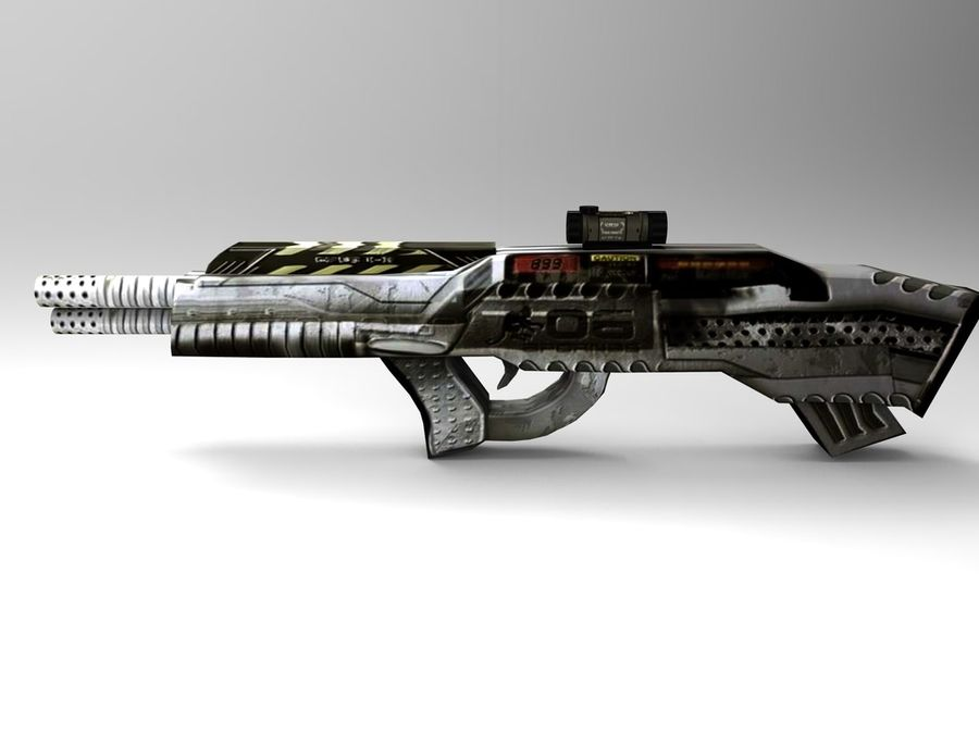 arma royalty-free 3d model - Preview no. 1