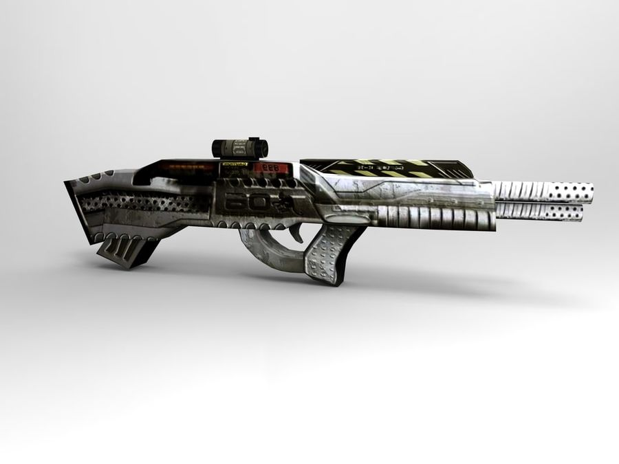 arma royalty-free 3d model - Preview no. 7