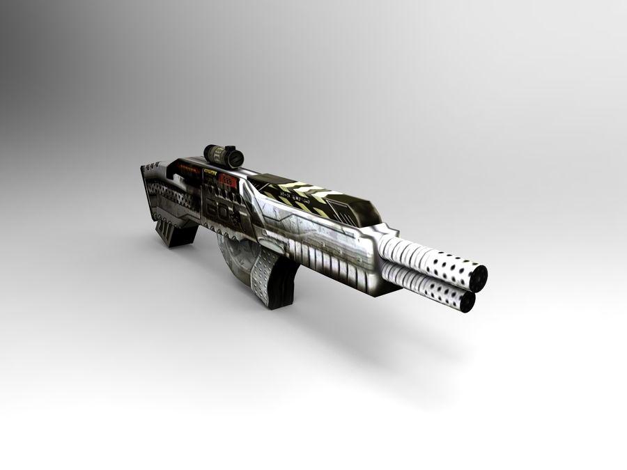 arma royalty-free modelo 3d - Preview no. 8