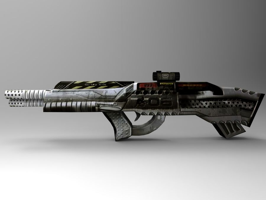weapon royalty-free 3d model - Preview no. 12
