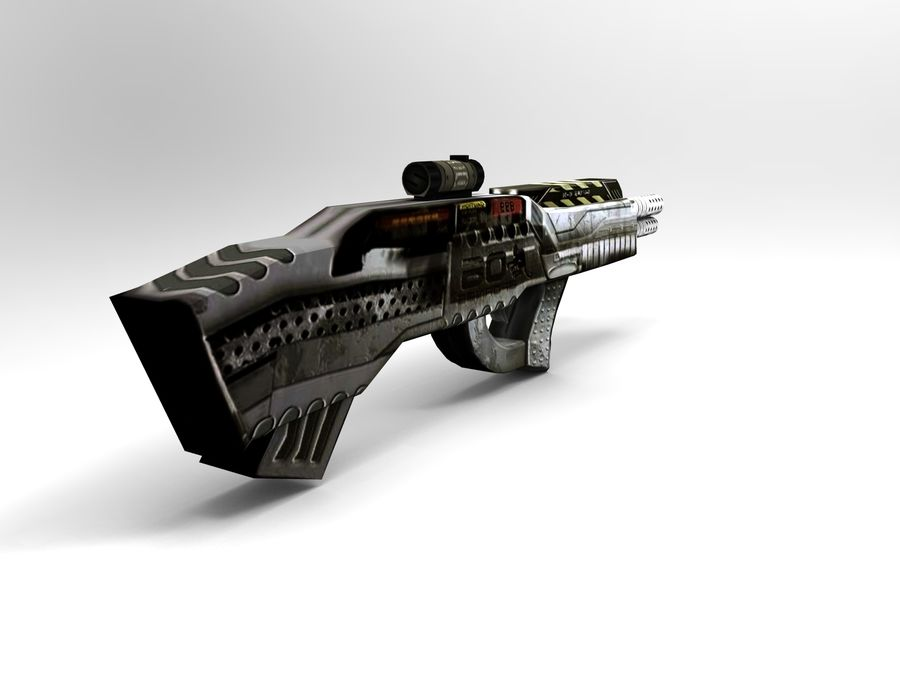 weapon royalty-free 3d model - Preview no. 5