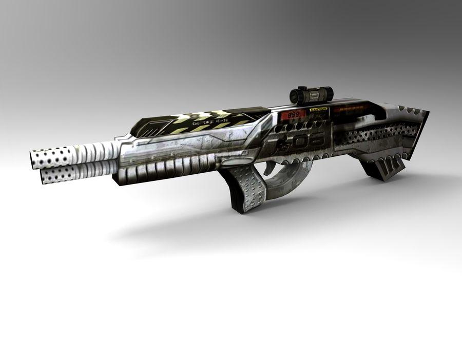 arma royalty-free modelo 3d - Preview no. 13