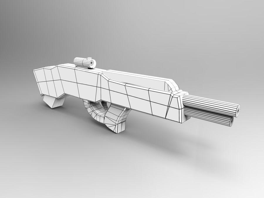 arma royalty-free modelo 3d - Preview no. 9