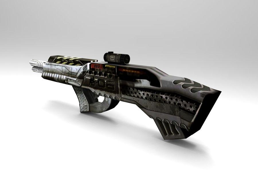 arma royalty-free modelo 3d - Preview no. 3