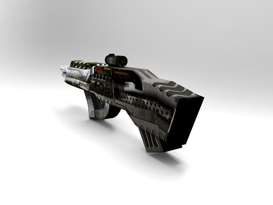 arma royalty-free 3d model - Preview no. 4