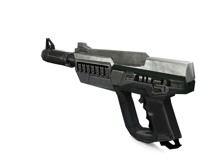 武器 royalty-free 3d model - Preview no. 4