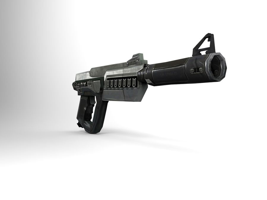 weapon royalty-free 3d model - Preview no. 10