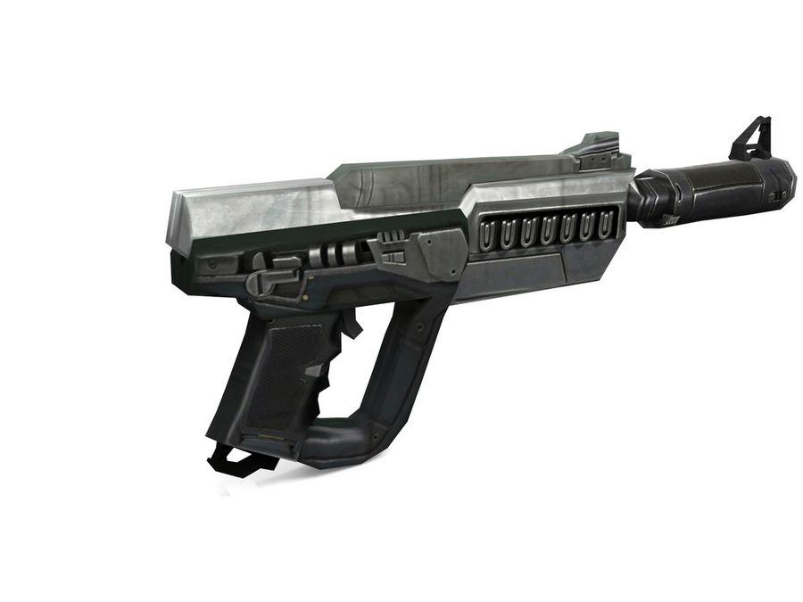 武器 royalty-free 3d model - Preview no. 7