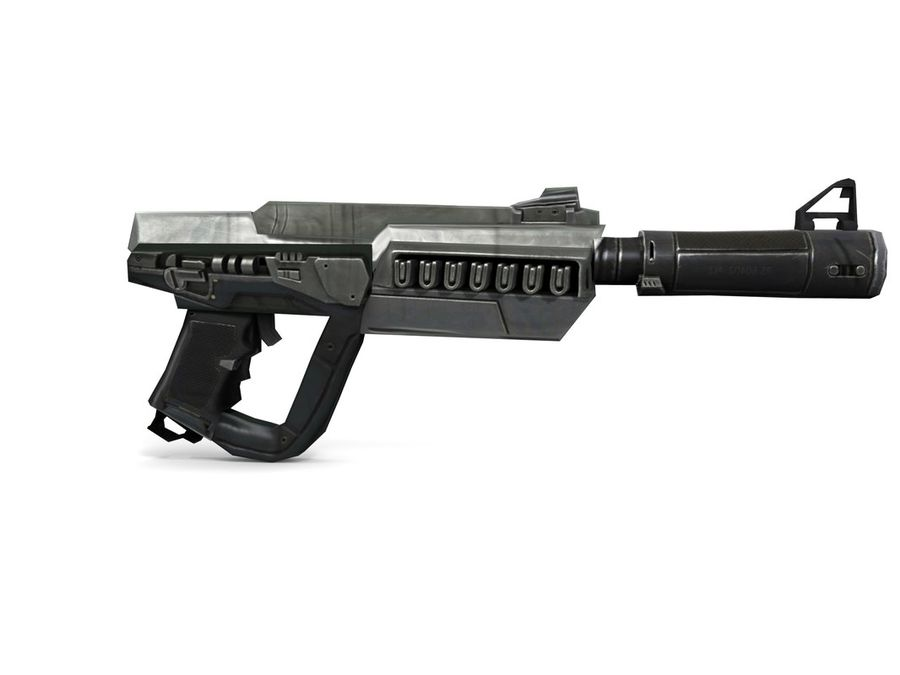 武器 royalty-free 3d model - Preview no. 9