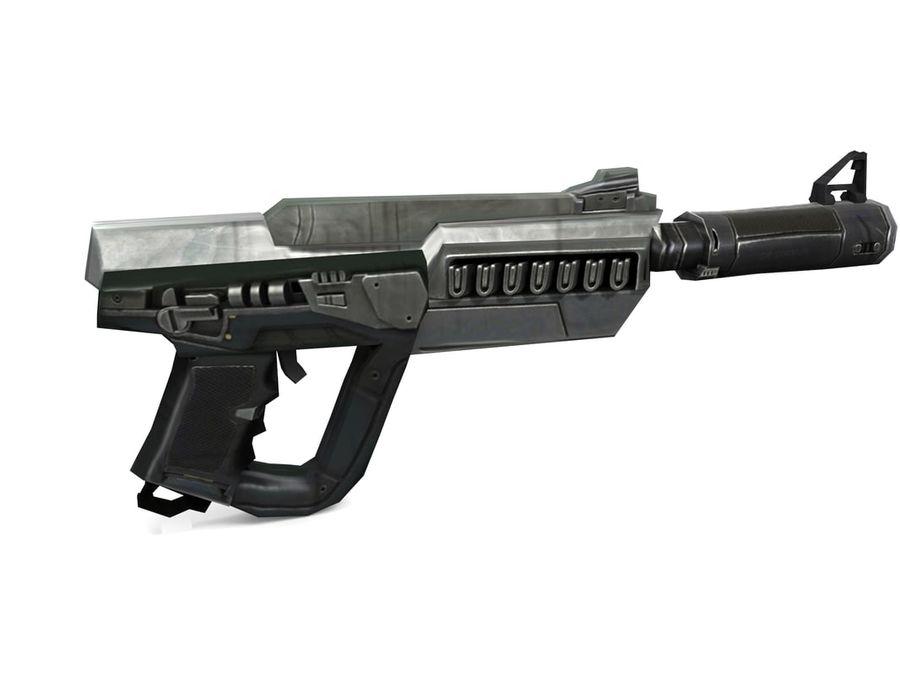 武器 royalty-free 3d model - Preview no. 8