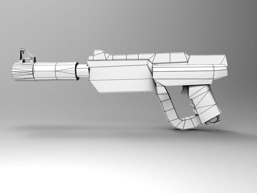 武器 royalty-free 3d model - Preview no. 15