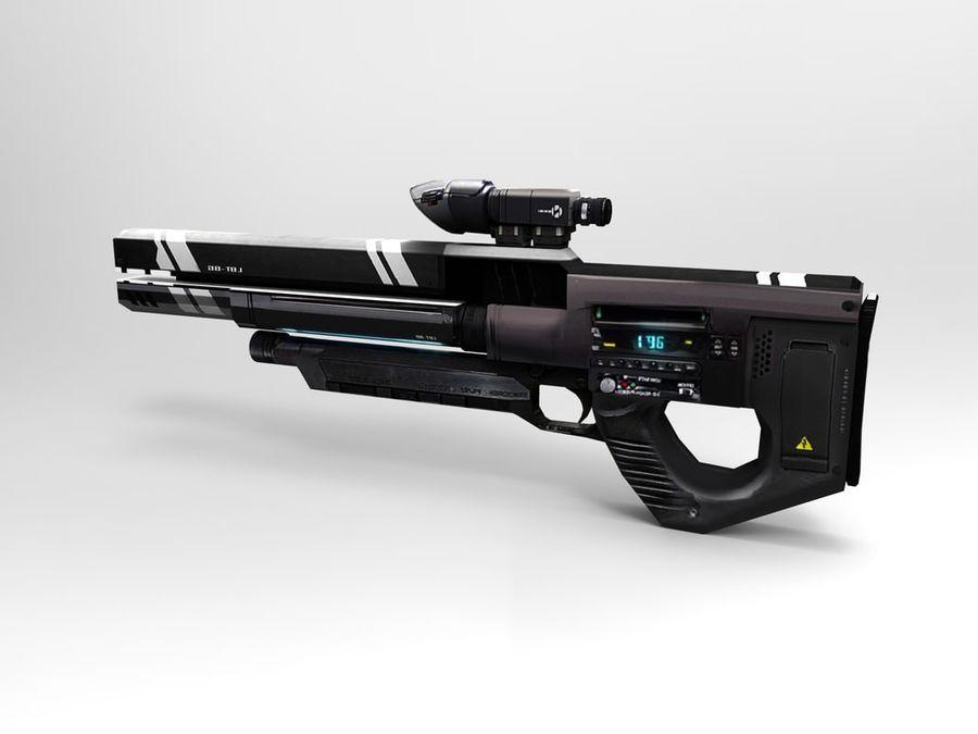 武器 royalty-free 3d model - Preview no. 2