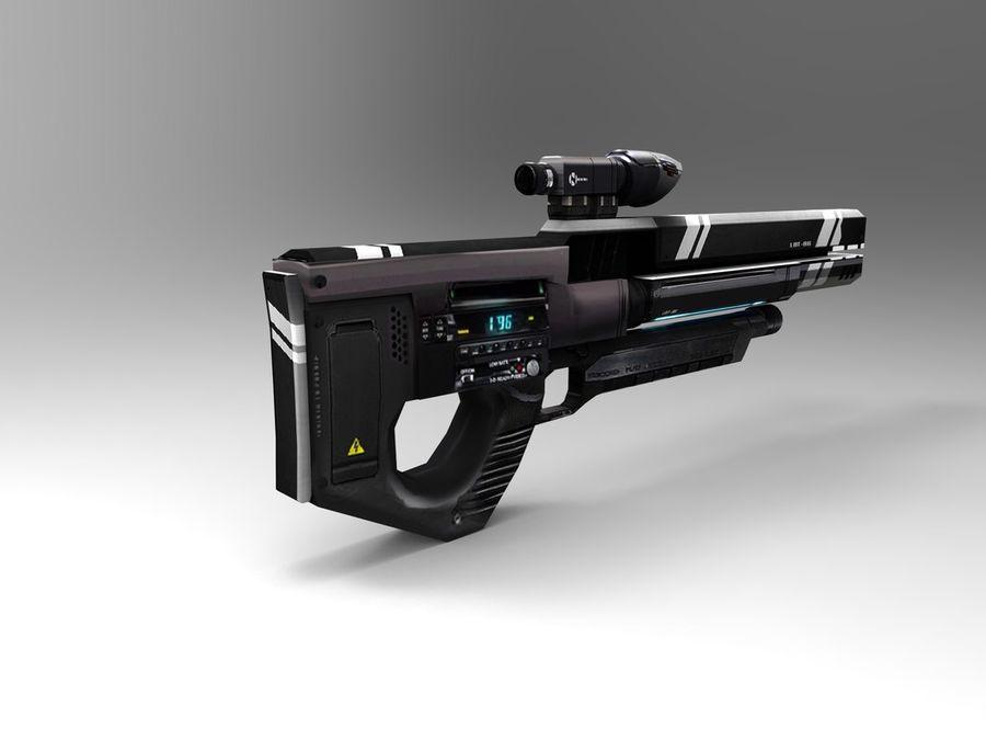 武器 royalty-free 3d model - Preview no. 6