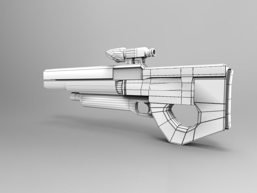 weapon royalty-free 3d model - Preview no. 34