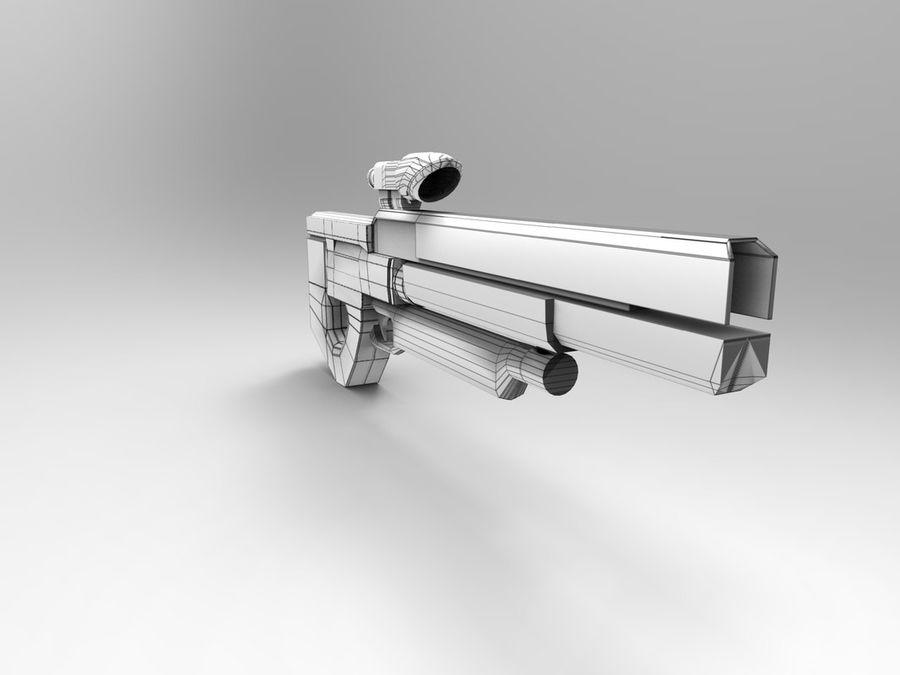 武器 royalty-free 3d model - Preview no. 37
