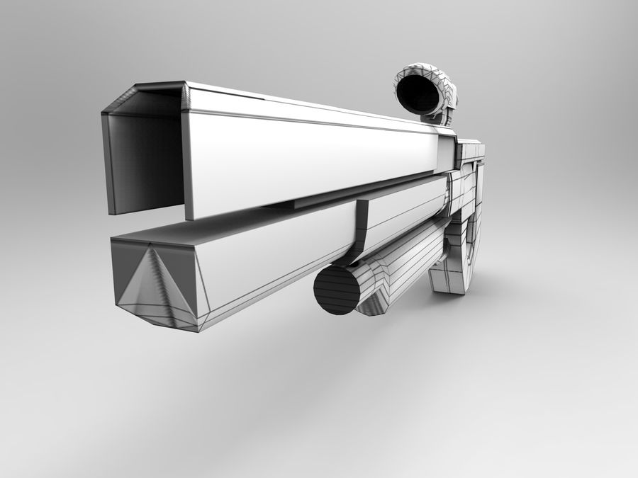 weapon royalty-free 3d model - Preview no. 38