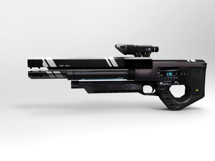 武器 royalty-free 3d model - Preview no. 21