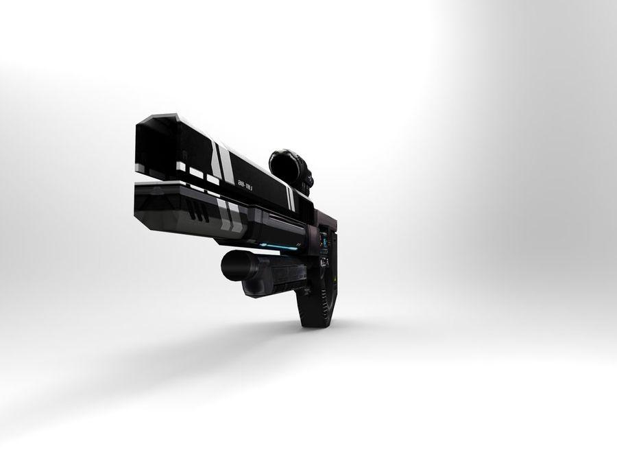 武器 royalty-free 3d model - Preview no. 10