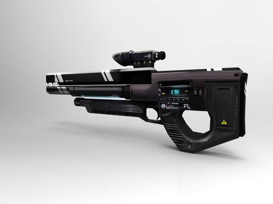 武器 royalty-free 3d model - Preview no. 33