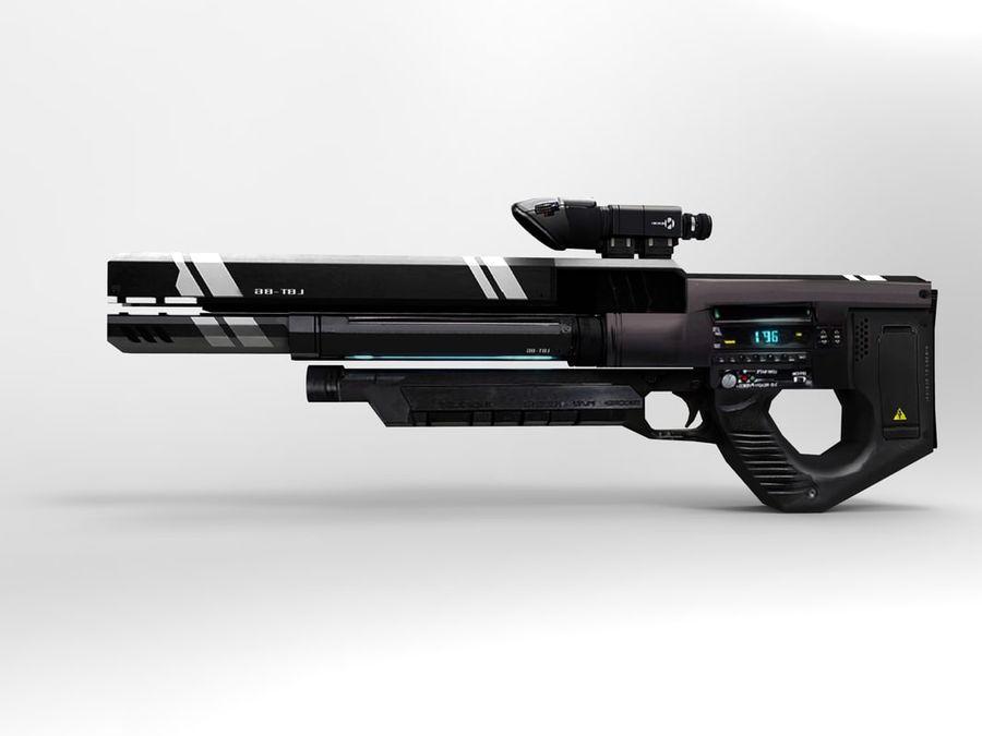 武器 royalty-free 3d model - Preview no. 32