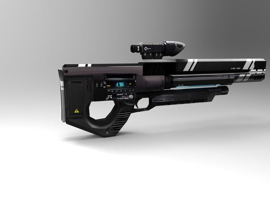 武器 royalty-free 3d model - Preview no. 27