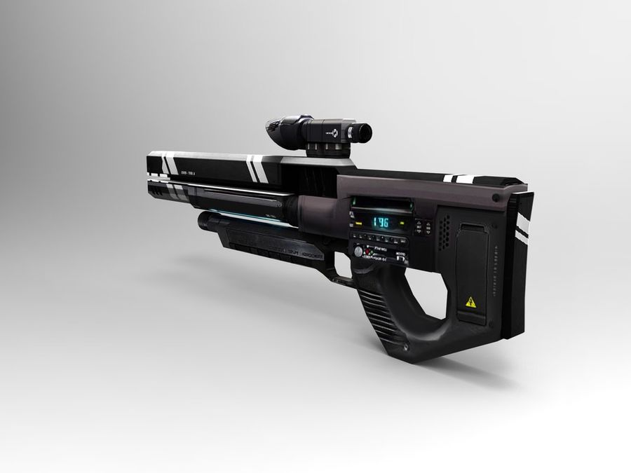 武器 royalty-free 3d model - Preview no. 23