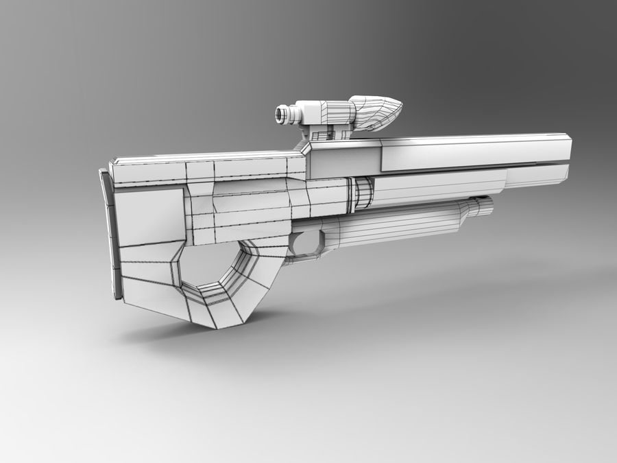 weapon royalty-free 3d model - Preview no. 15