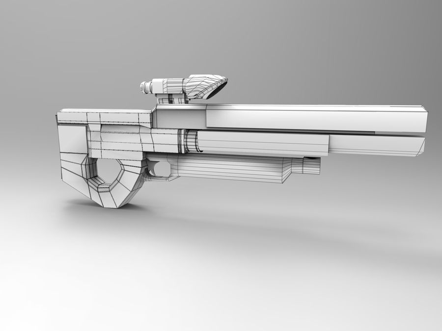 weapon royalty-free 3d model - Preview no. 36