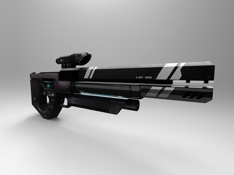 weapon royalty-free 3d model - Preview no. 39