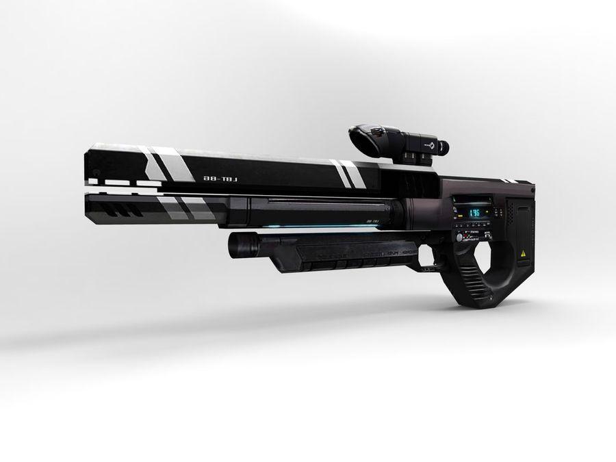 武器 royalty-free 3d model - Preview no. 31