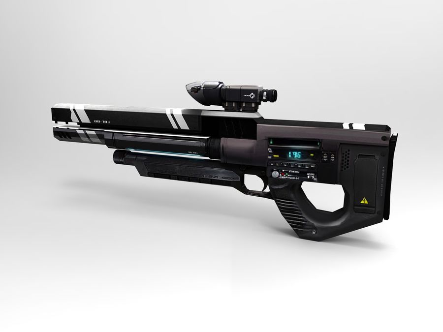 weapon royalty-free 3d model - Preview no. 22
