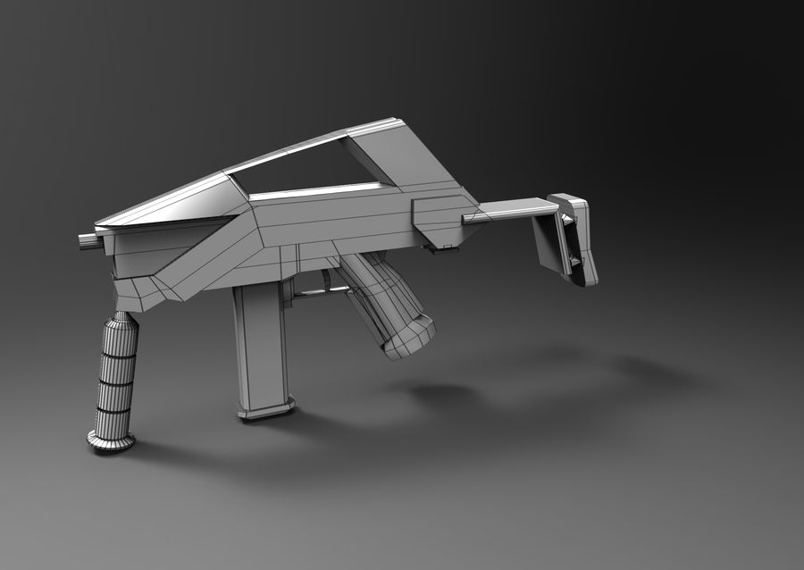 weapon royalty-free 3d model - Preview no. 17