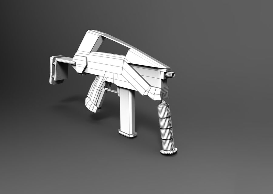 weapon royalty-free 3d model - Preview no. 19