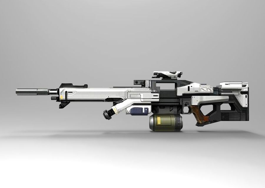 weapon royalty-free 3d model - Preview no. 3