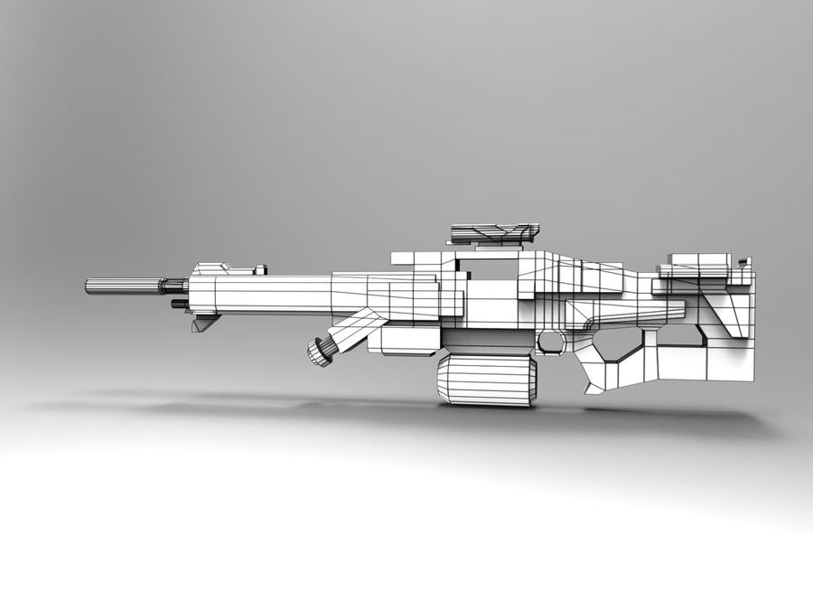 weapon royalty-free 3d model - Preview no. 13