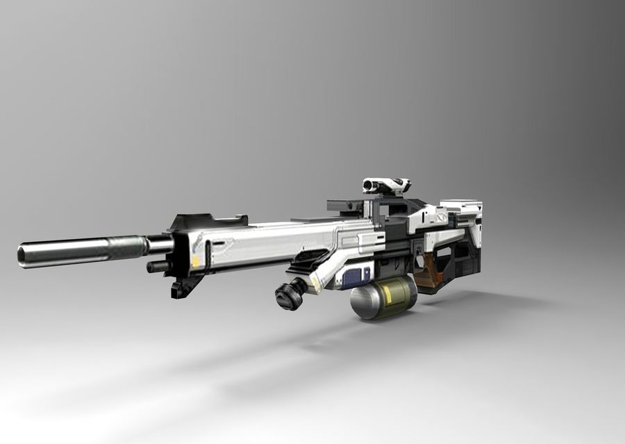 weapon royalty-free 3d model - Preview no. 2