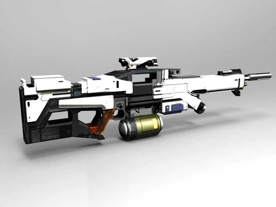 weapon royalty-free 3d model - Preview no. 7