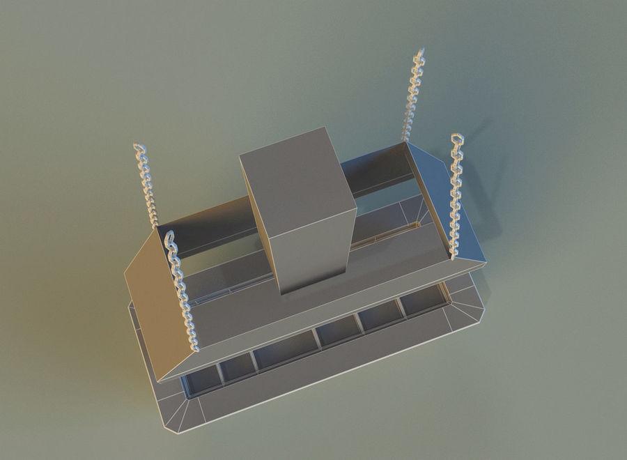 Pavilhão comercial 8 royalty-free 3d model - Preview no. 15