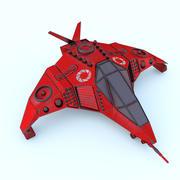Научно-космический корабль 3d model