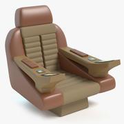 Star Trek Captains Chair 3d model